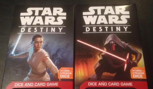 Check Out The Latest STAR WARS Offering from Fantasy Flight Games – It is your DESTINY
