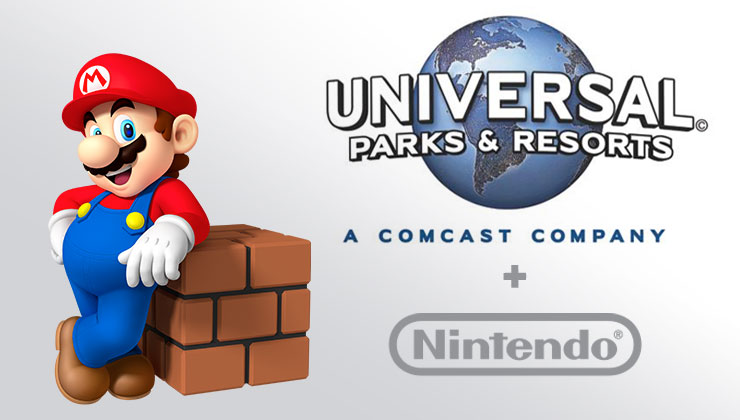 Nintendo Attractions Coming to Universal Studios Theme Parks