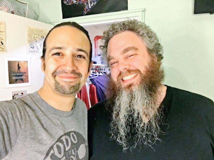 Lin-Manuel Miranda to Produce Patrick Rothfuss' THE KINGKILLER CHRONICLE
