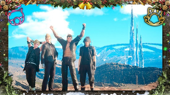 FINAL FANTASY XV Brings Holiday Cheer Next Week