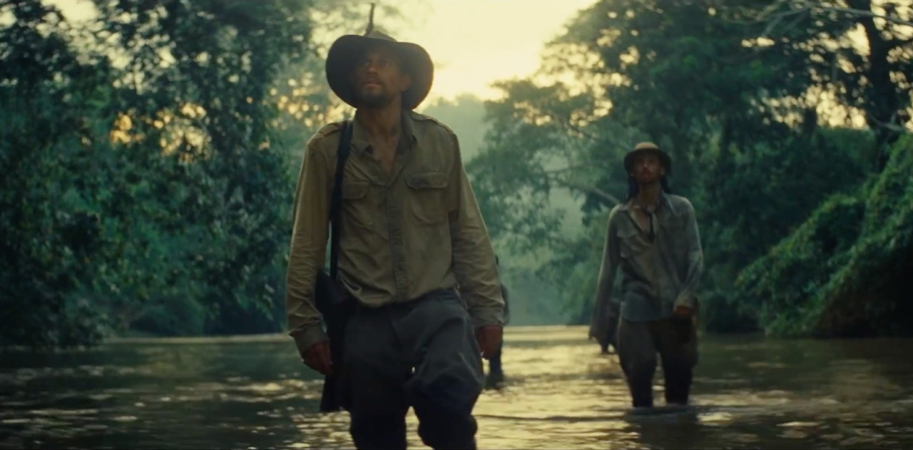 Charlie Hunnam Explores the Amazon in THE LOST CITY OF Z Trailer