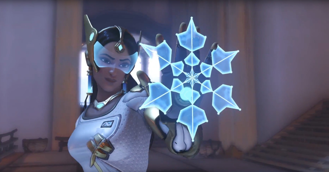 OVERWATCH Gets a Winter Wonderland Makeover and Symmetra's Overhaul is Live
