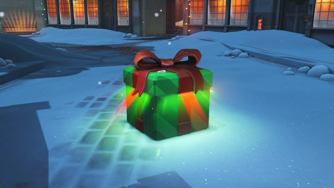 Blizzard Gives the Gift of 5 Free OVERWATCH Loot Boxes