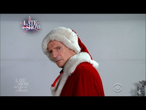 Watch Liam Neeson's Misguided Santa Claus Audition!