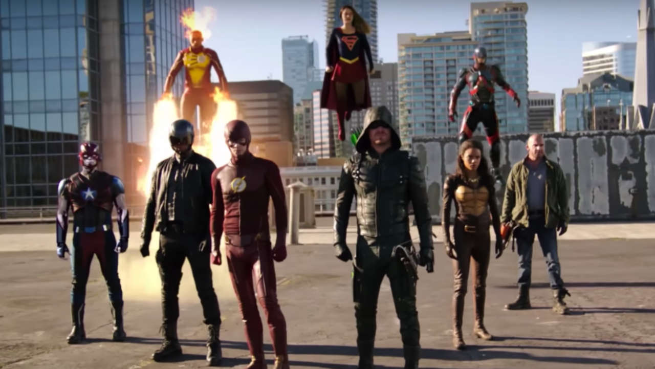 Arrowverse Crossover Details: Earth X Crashes CW Wedding