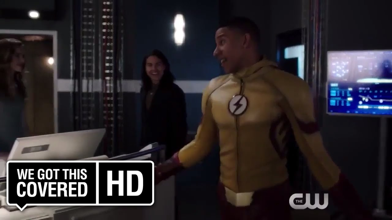 Sneak Peek at THE FLASH 'Borrowing Problems from the Future' Sees Barry and Wally at Odds!