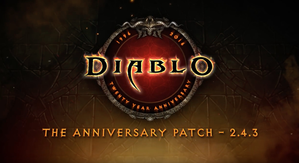 DIABLO 20th Anniversary Patch, The Darkening of Tristram, is now Live