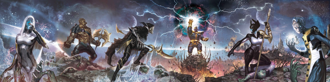 Everything You Need To Know about the Children of Thanos, The Black Order, in AVENGERS: INFINITY WAR