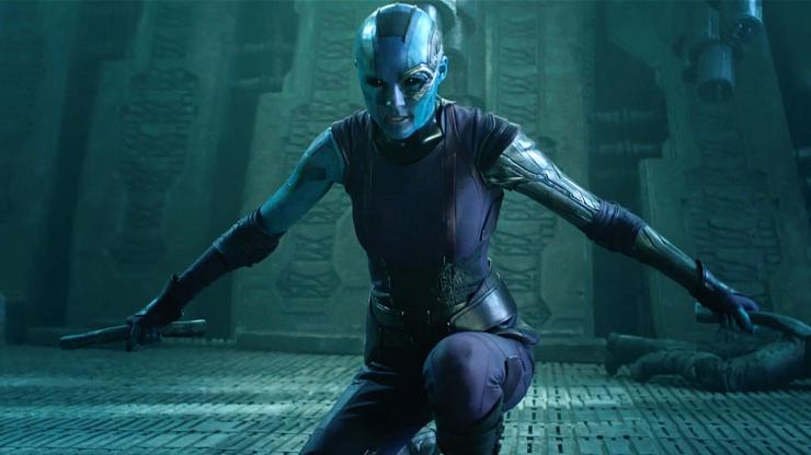 Karen Gillan's Nebula May Have a Bigger Role in AVENGERS: INFINITY WAR