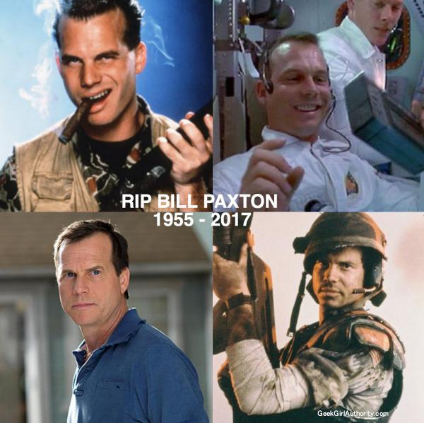 Bill Paxton Dies at 61