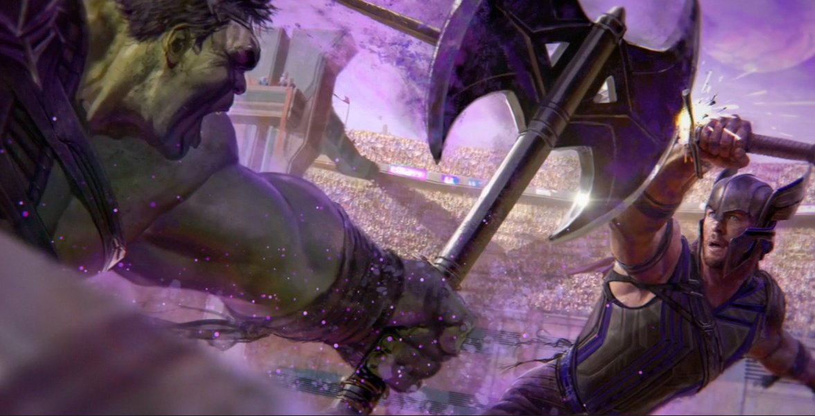 New Concept Art for THOR: RAGNAROK Shows Hela and Gladiator Fights