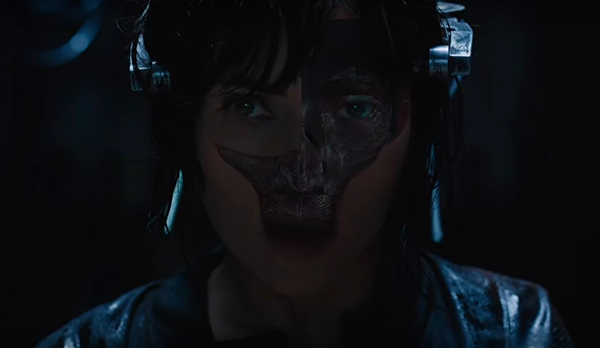 New GHOST IN THE SHELL Trailer is Haunting