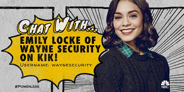 Become a Wayne Security Trainee and Talk with Emily of POWERLESS