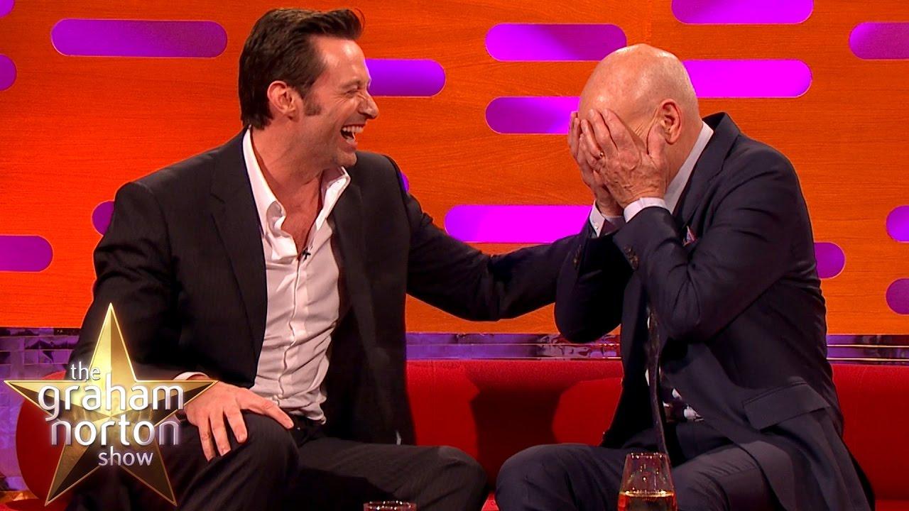Hugh Jackman Gets Personal with Sir Patrick Stewart and Sir Ian McKellen on THE GRAHAM NORTON SHOW