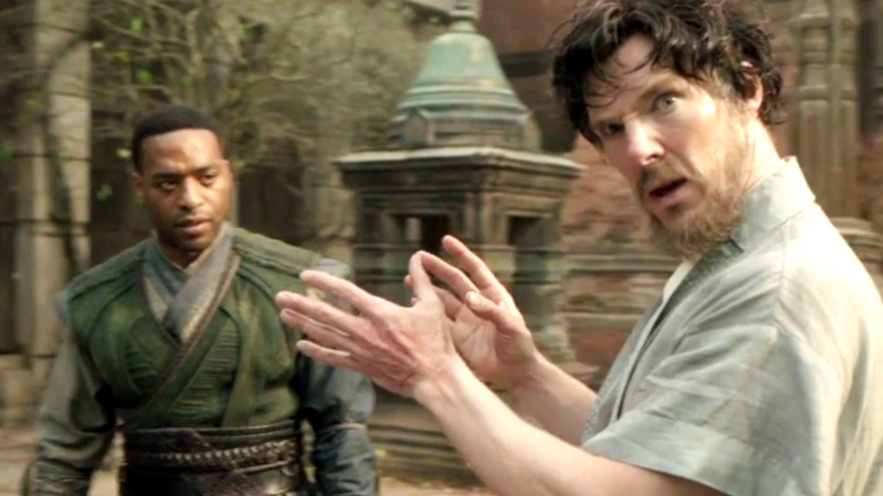 Watch Benedict Cumberbatch Get Magically Silly in this DOCTOR STRANGE Blooper Reel