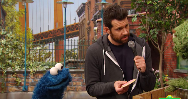 Billy On The Street Makes His Way To Sesame Street