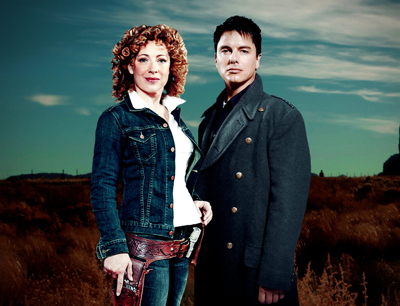 It's A Happy Whovian Birthday For Alex Kingston And John Barrowman