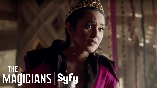 "Margo Puts Quentin in His Place in this Sneak Peek of THE MAGICIANS (S02E10) ""The Girl Who Told Time"""