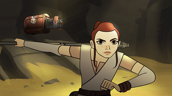 SWCO – STAR WARS: FORCES OF DESTINY Highlight Our Favorite Heroines