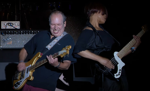 Check Out Hans Zimmer Shredding at Coachella to THE DARK KNIGHT Trilogy