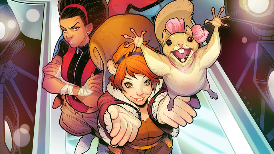 Full Character Breakdown for SQUIRREL GIRL and her NEW WARRIORS Released