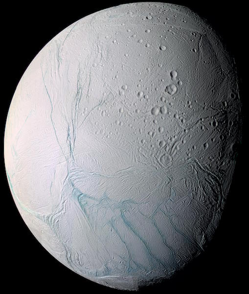 Saturn's Moon Has Potential Energy Source to Support Life