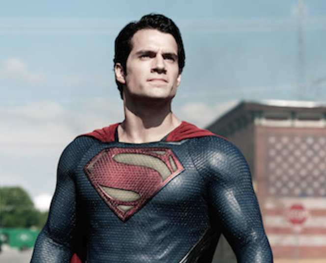 Henry Cavill Goes All Nostalgic in Christopher Reeve's Superman Suit