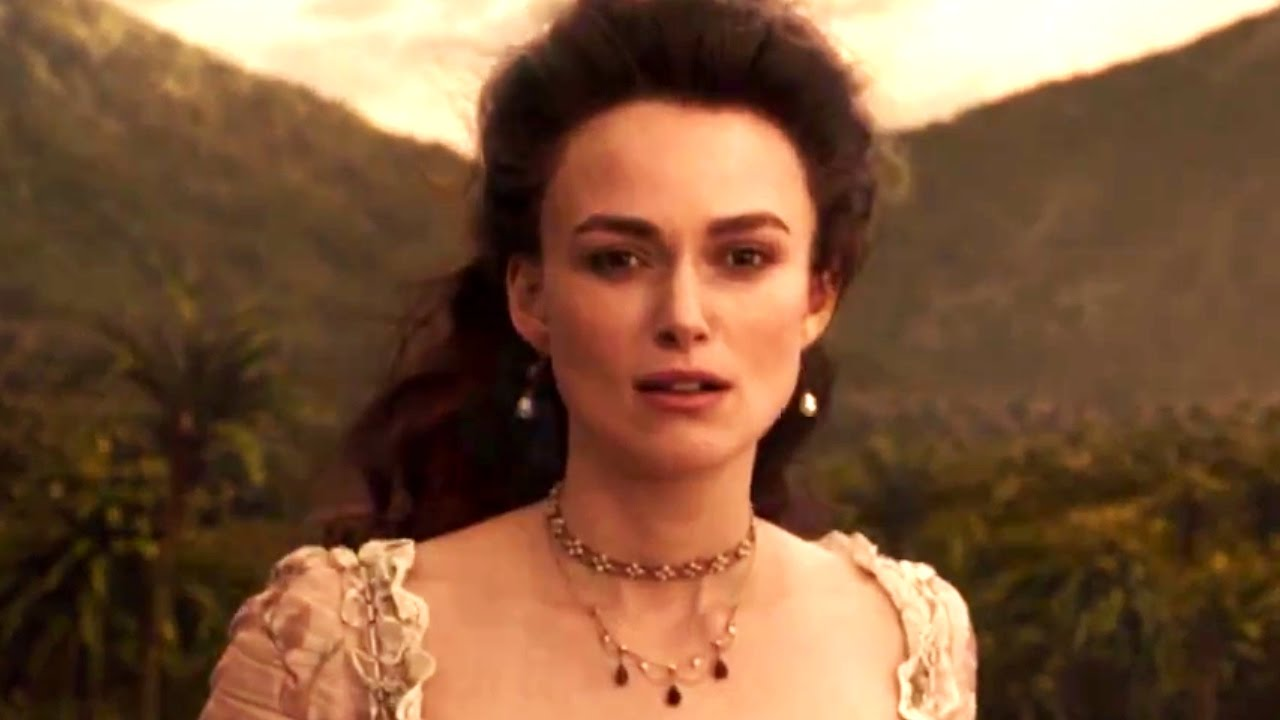 New Keira Knightley Footage in PIRATES OF THE CARIBBEAN: DEAD MEN TELL NO TALES Trailer!