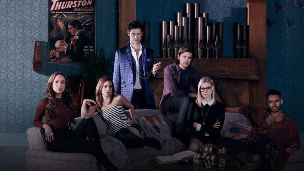 The cast of The Magicians