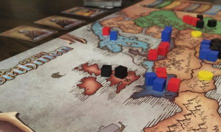 6 Favorite Area Control Board Games