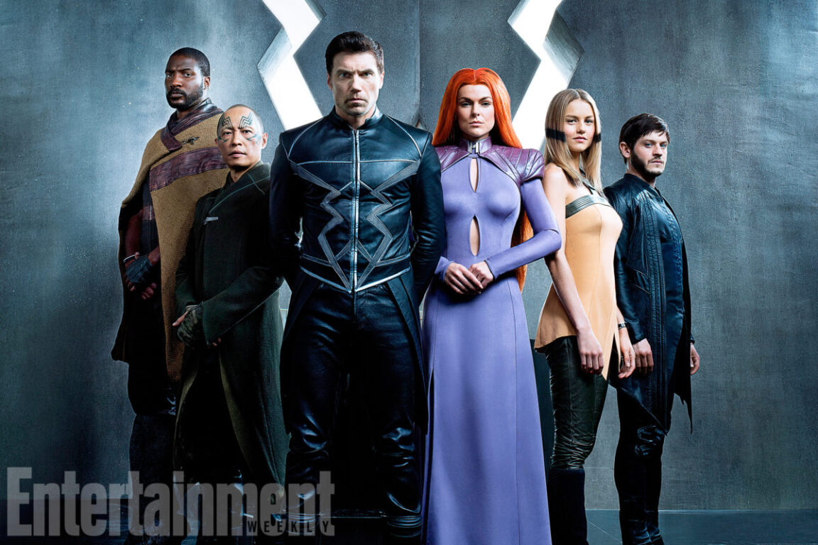 New INHUMANS Trailer Shows Off Royal Family's Powers