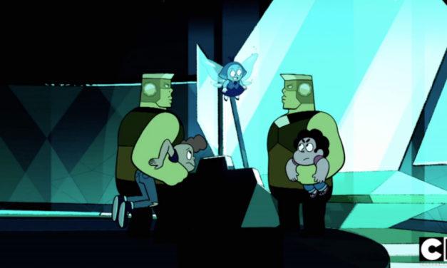 STEVEN UNIVERSE Recap: (S05E01) Stuck Together