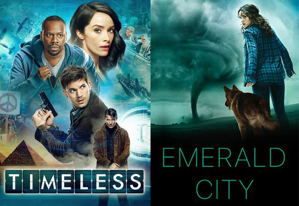 TIMELESS and EMERALD CITY Have Been Cancelled After One Season