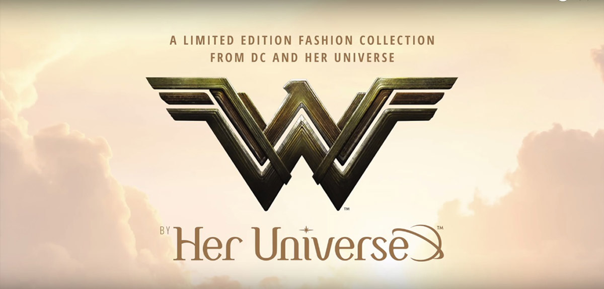 Her Universe Launches WONDER WOMAN Inspired Line