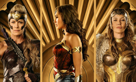 IMAX Highlights Themysciran Royalty in 3 New WONDER WOMAN Posters