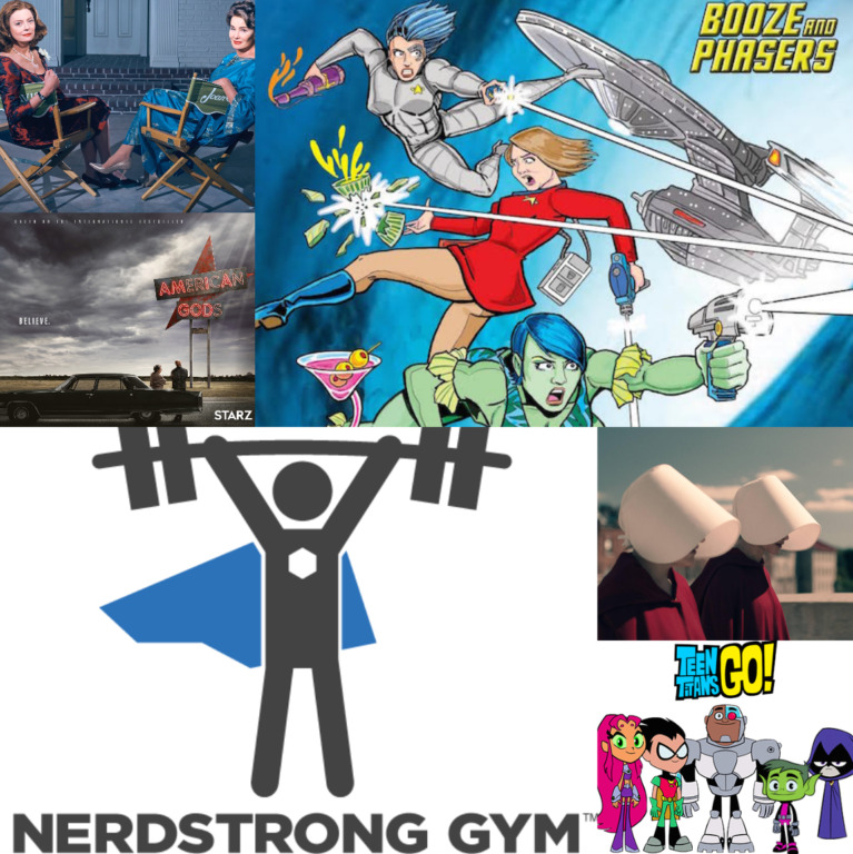 Ep 30 – TV Shows You Need to Be Watching with Guests Andrew Deutsch, Christy Black Nett and David Nett from Nerdstrong Gym