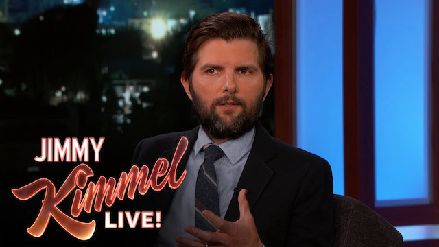 Adam Scott Gets a Star Wars Day Surprise