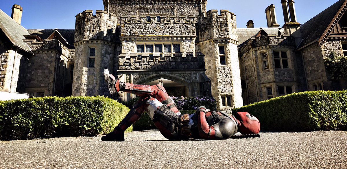 First Pics from Set of DEADPOOL 2 Sees the Merc Wrecking a Party