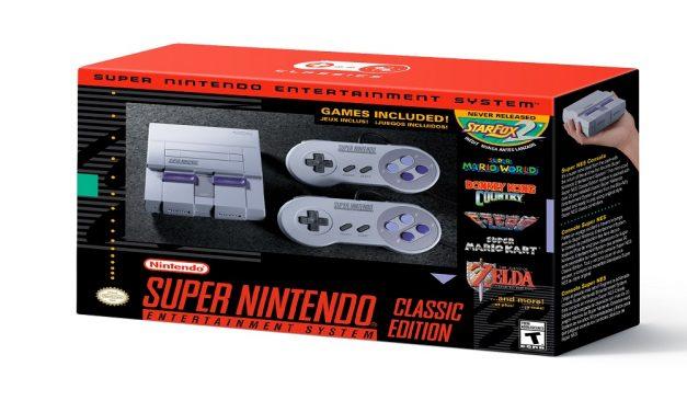 Nintendo Announces the SNES CLASSIC EDITION
