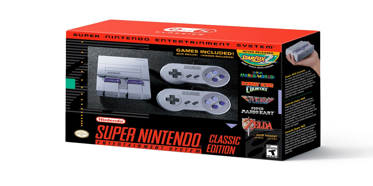 Nintendo Increases the SNES Classic Edition Inventory and Announces the Return of the NES Classic Edition