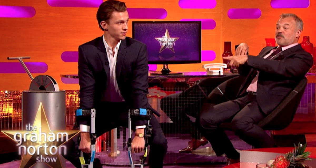 Tom Holland Plays a GREAT Ape on THE GRAHAM NORTON SHOW