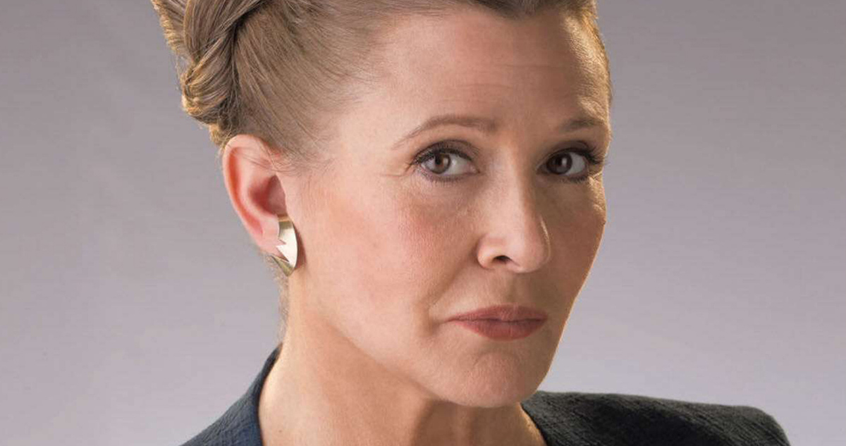 Carrie Fisher Will Be in STAR WARS: EPISODE IX