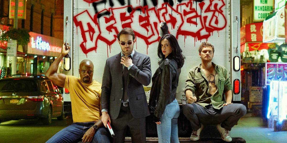 SDCC 2017: New Posters for THE DEFENDERS and THE PUNISHER Arrive at SAN DIEGO COMIC CON