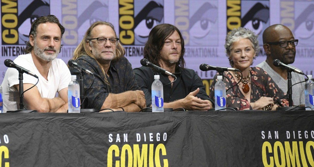 SDCC 2017: THE WALKING DEAD Tributes, Season 8 Trailer and a Look Back at the First 99 Episodes