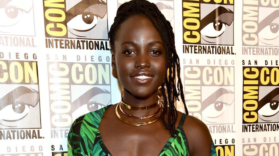 Watch Lupita Nyong'o Tear It Up Incognito On the SDCC Floor