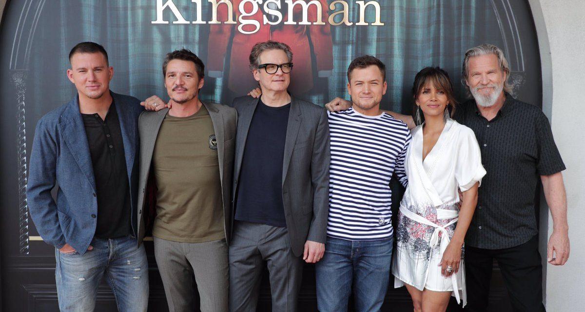 SDCC 2017: T-Shirts, Whiskey and Mayhem at The KINGSMAN: THE GOLDEN CIRCLE Panel