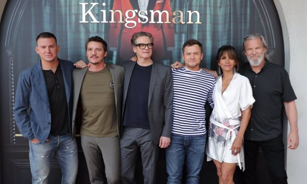 SDCC 2017: T-Shirts, Whiskey and Mayhem at The KINGSMAN: THE GOLDEN CIRCLE Panel
