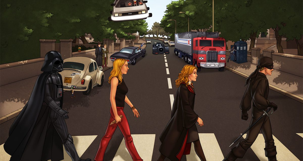 10 Geeky ABBEY ROAD Album Covers That Rock