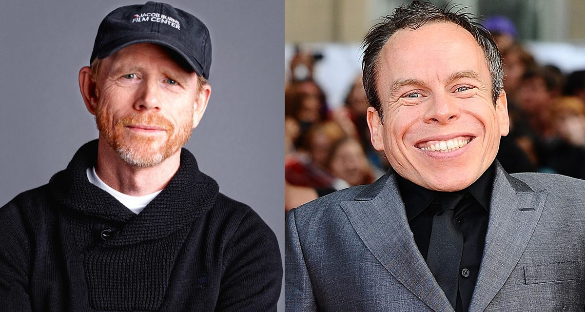 Ron Howard and Warwick Davis Reunited After 30 Years on Han Solo film