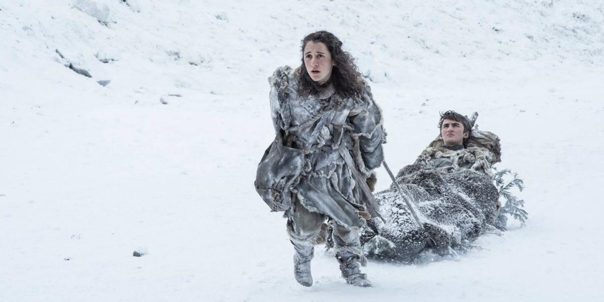 Meera Reed Bran Stark GOT